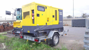 Atlas Copco QAS 60Pd w/ trailer construction