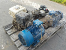 utilaj de şantier n/a Pallet of Electric Motors (2 of), Petrol Engines (4 of)