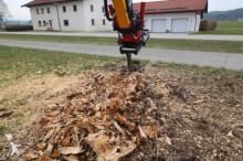 Voir les photos Matériel de chantier MS Wurzelbiber Wurzelschäler  10 Bagger