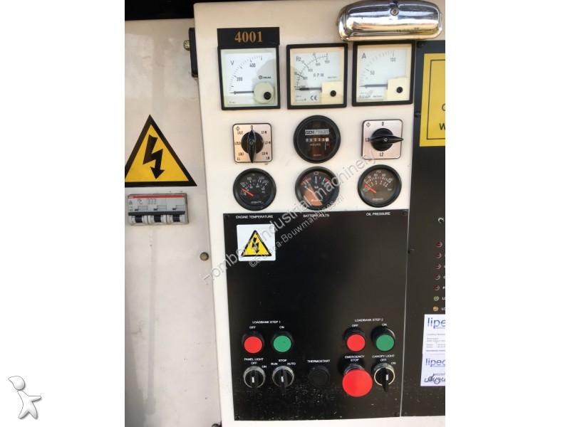 Used Perkins generator construction Stamford 60 KVA FG