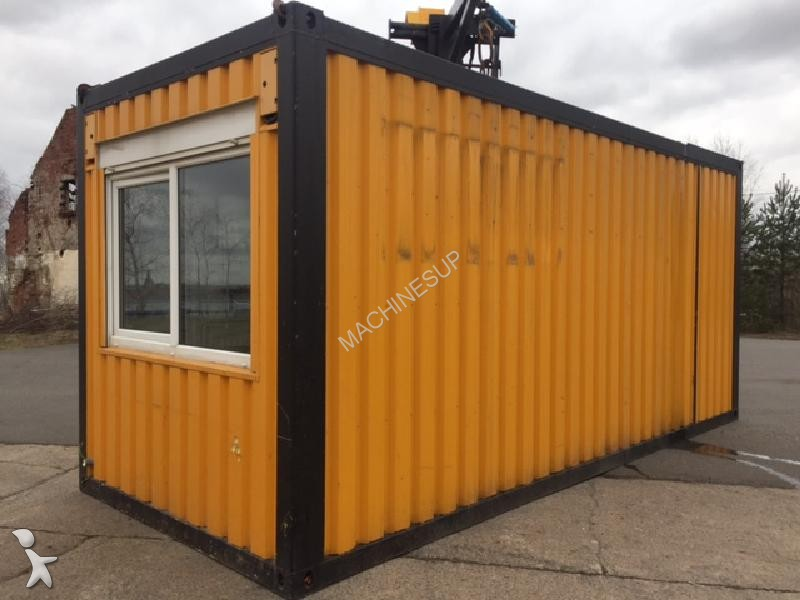 bungalow nc container b rocontainer wohncontainer occasion n 2005019. Black Bedroom Furniture Sets. Home Design Ideas