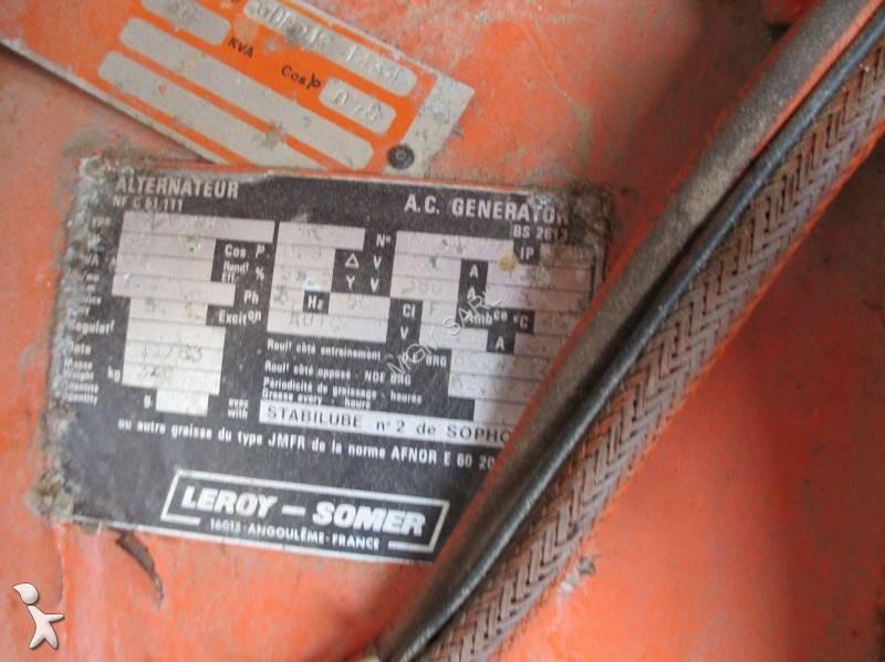 Material de obra diesel energie grupo electr geno usado - Material de obra ...