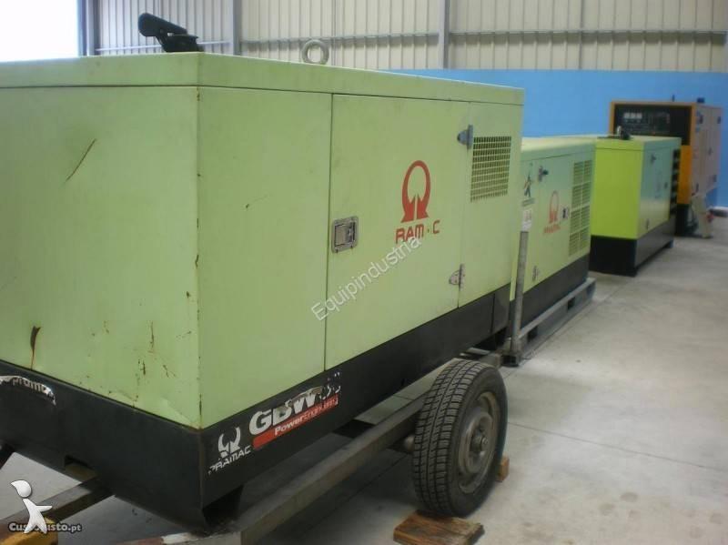 Material de obra pramac gerador gsw 30 usado n 2491225 - Material de obra ...
