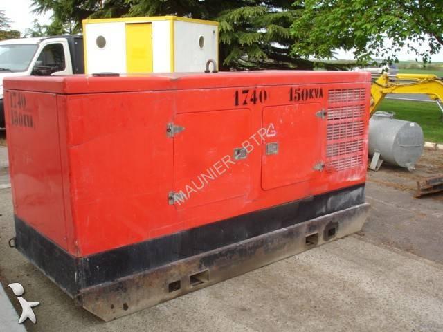 used genelec generator construction gtc150s n 1666328. Black Bedroom Furniture Sets. Home Design Ideas