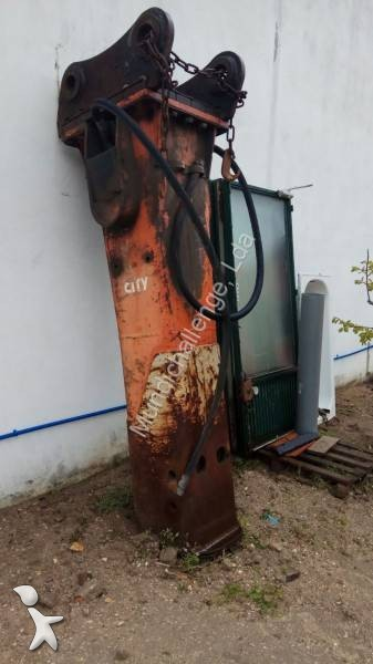 Martelo demolidor e perfurador usado rammer city 100 - Material de obra ...
