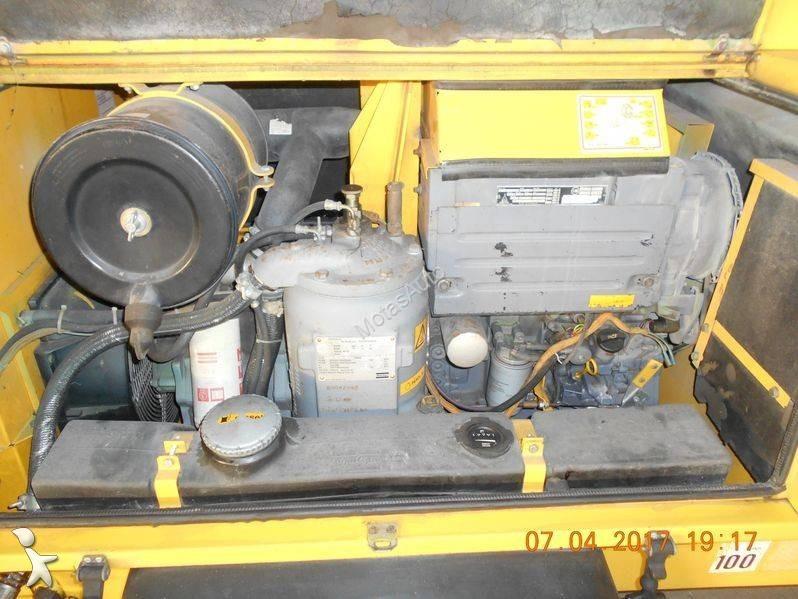 Material de obra atlas copco compressor xas 75 usado n - Material de obra ...