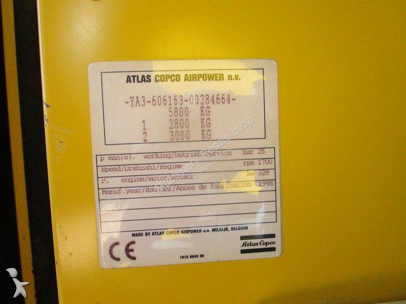 Material de obra atlas copco compressor xrvs 455 usado n - Material de obra ...