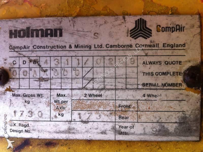 Material de obra holman compair compressor cr 275 usado - Material de obra ...
