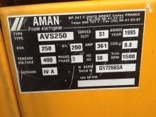 Voir les photos Matériel de chantier Aman AVS 250 A