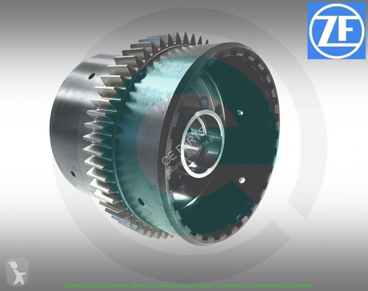 Fendt Autre pièce de rechange de transmission (CZĘŚCI ORYGINALNE UŻYWANE ZF ) KOSZ SPRZĘGŁA POWERSHIFT G/F  800 F824104360020 59 ZĘBÓW /24mm ZF POWERSHIFT pour tracteur spare parts