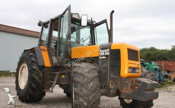 tracteur agricole renault 155 54 occasion