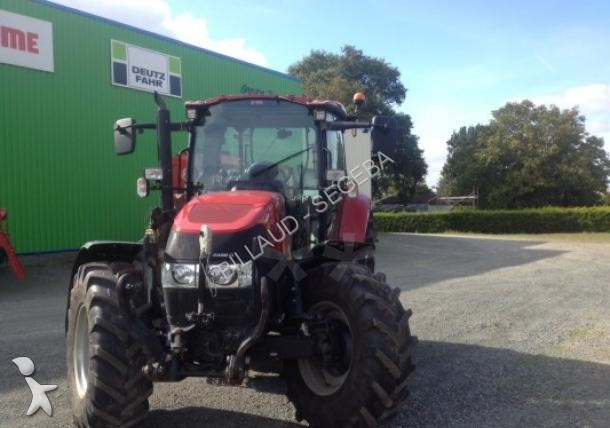 Tracteur agricole case ih 105 u pro occasion n 1383101 for Case agricole