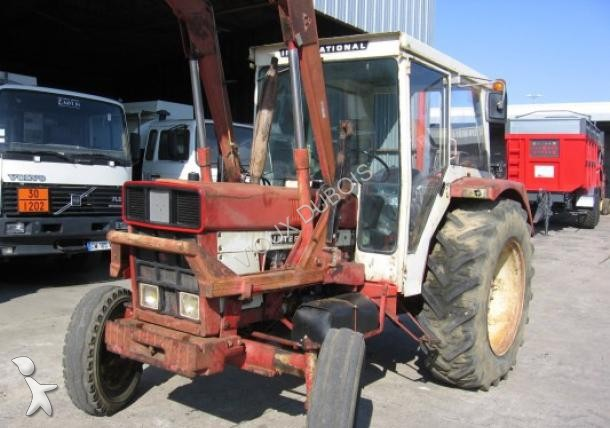 tracteur agricole case ih 744 occasion