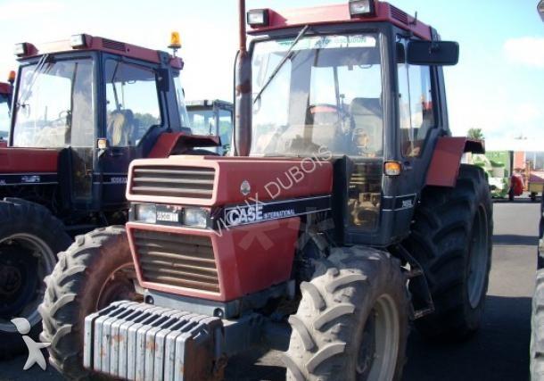tracteur agricole case ih 745 xl occasion n 1389156. Black Bedroom Furniture Sets. Home Design Ideas