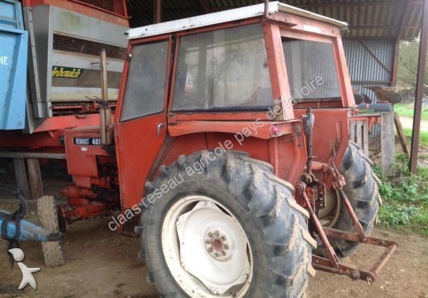 tracteur agricole renault 461 occasion n 1390767. Black Bedroom Furniture Sets. Home Design Ideas