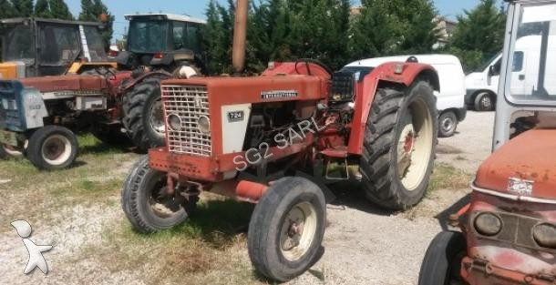 tracteur agricole case ih 724 occasion
