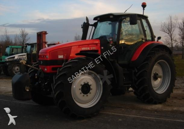 tracteur agricole same iron 200 occasion
