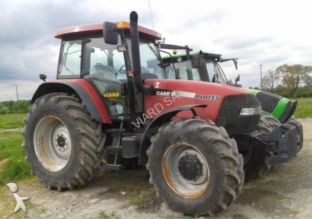 tracteur agricole case ih mxm 155 occasion n 1409232. Black Bedroom Furniture Sets. Home Design Ideas