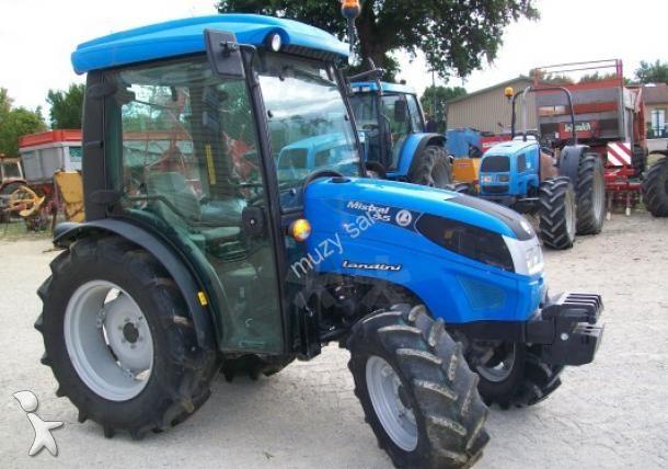 tracteur agricole landini mistral 55 occasion