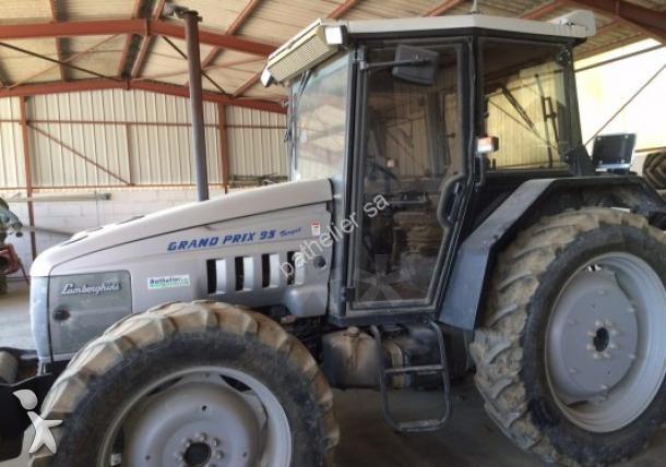tracteur agricole lamborghini grand prix 95 occasion n 1433828. Black Bedroom Furniture Sets. Home Design Ideas