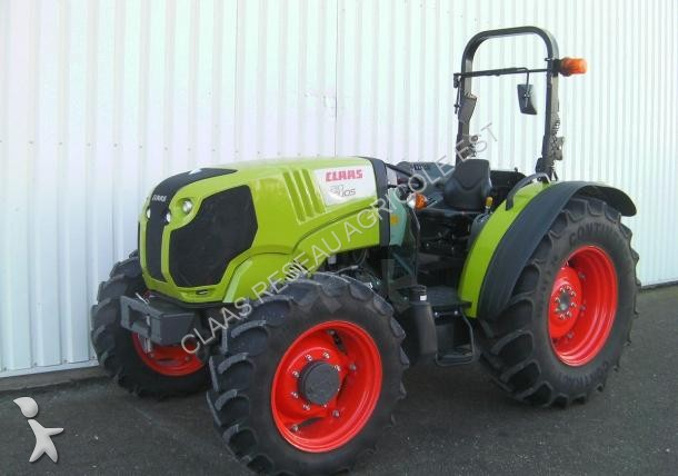 tracteur agricole claas elios 210 arceau occasion