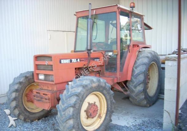 tracteur agricole renault 751 4 occasion n 1500504. Black Bedroom Furniture Sets. Home Design Ideas