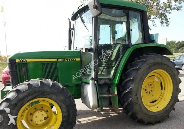 tracteur agricole john deere 6110 occasion