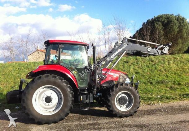 tracteur agricole case ih farmal u pro 105 occasion n 1514414. Black Bedroom Furniture Sets. Home Design Ideas