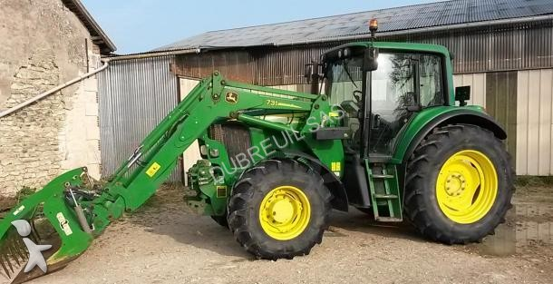 tracteur agricole john deere 6520 occasion