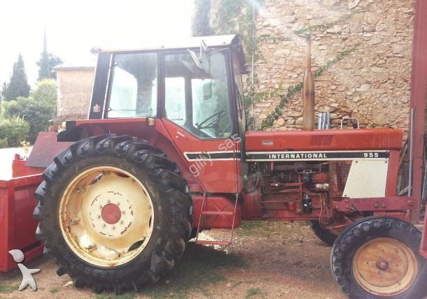 tracteur agricole case ih 955 occasion n 1527340. Black Bedroom Furniture Sets. Home Design Ideas