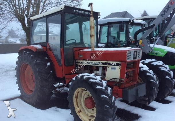Tracteur agricole case ih 743 occasionmasculinsingulier for Case agricole