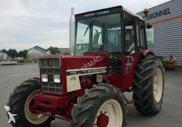 Tracteur agricole occasion case ih nc 733 annonce n 1576681 for Case agricole
