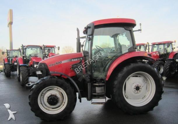 tracteur agricole case ih mxu 100 occasion n 1579956. Black Bedroom Furniture Sets. Home Design Ideas