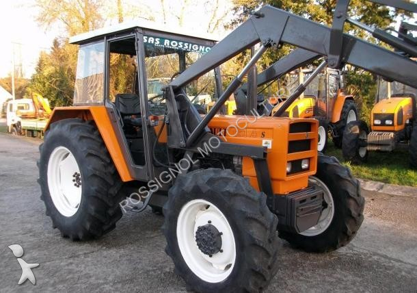 tracteur agricole renault 651-4s occasion
