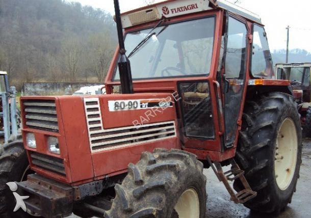 tracteur agricole fiat 80 90 occasion n 1609509. Black Bedroom Furniture Sets. Home Design Ideas