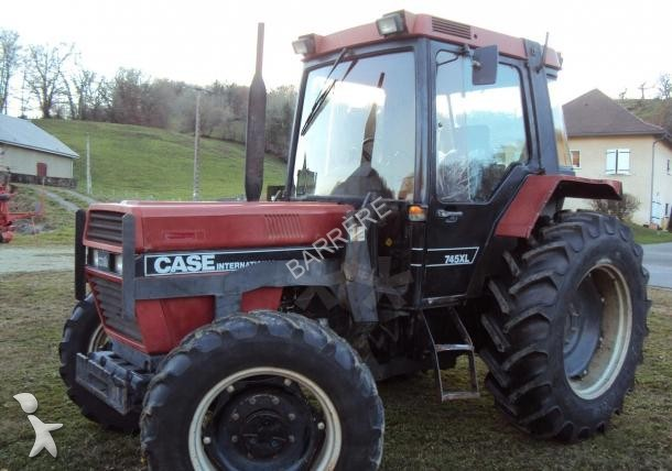 Tracteur agricole case ih 745 axl occasion n 1609514 for Case agricole