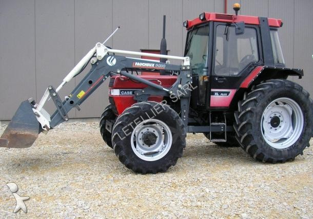 tracteur agricole case ih 845 xl occasion