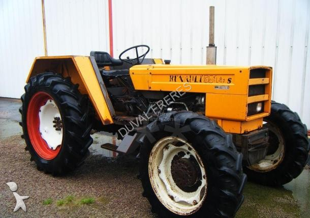 tracteur agricole renault 551 4s occasion