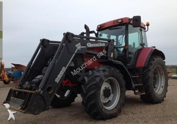 tracteur agricole case ih mx 110 occasion n 1615747. Black Bedroom Furniture Sets. Home Design Ideas