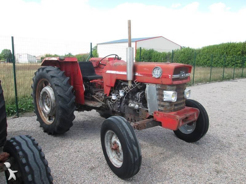 tracteur agricole massey ferguson 168 occasion n 2180344. Black Bedroom Furniture Sets. Home Design Ideas