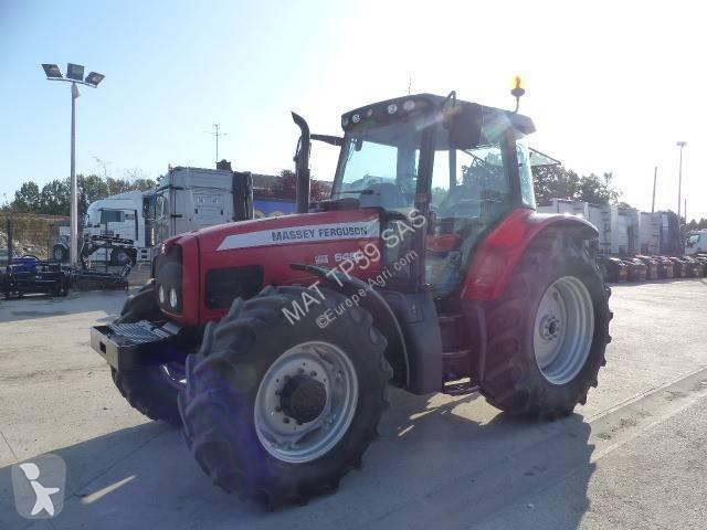 Tracteur agricole Massey Ferguson 6480 DYNASHIFT