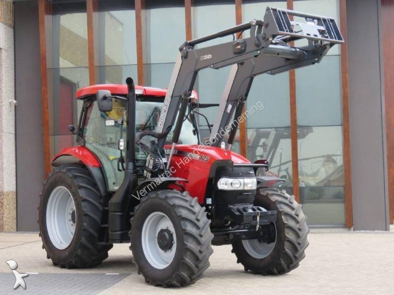 Tracteur agricole case maxxum 125 occasion n 2297529 for Case agricole