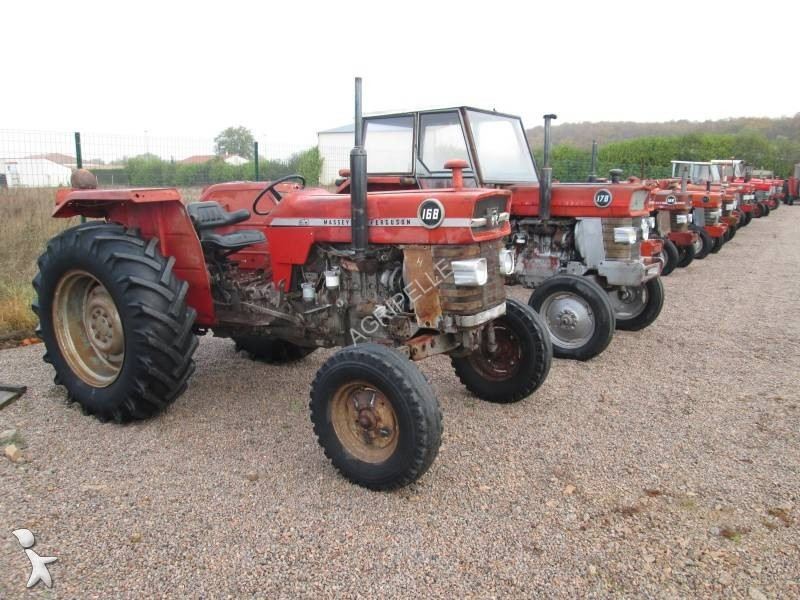 tracteur agricole massey ferguson 168 occasion