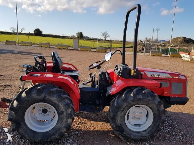 Trattore agricolo antonio carraro tigrone 5500 tractor for Trattori usati antonio carraro 7500