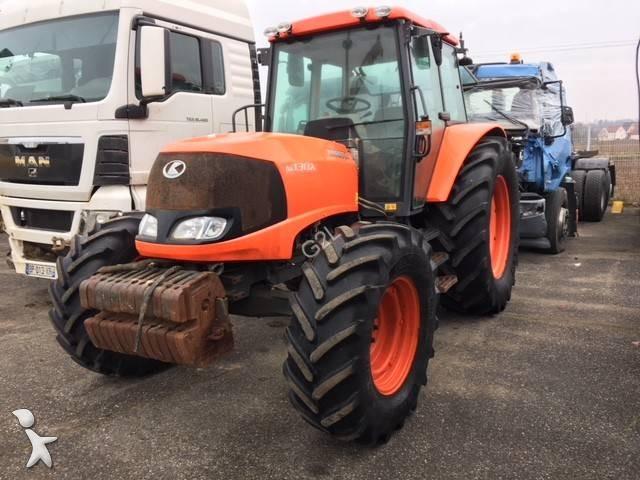 Kubota M130X *INONDE*WATER DAMAGE* Landwirtschaftstraktor