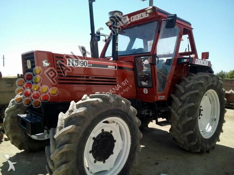 tracteur agricole fiat 115 90 occasion n 2530480. Black Bedroom Furniture Sets. Home Design Ideas