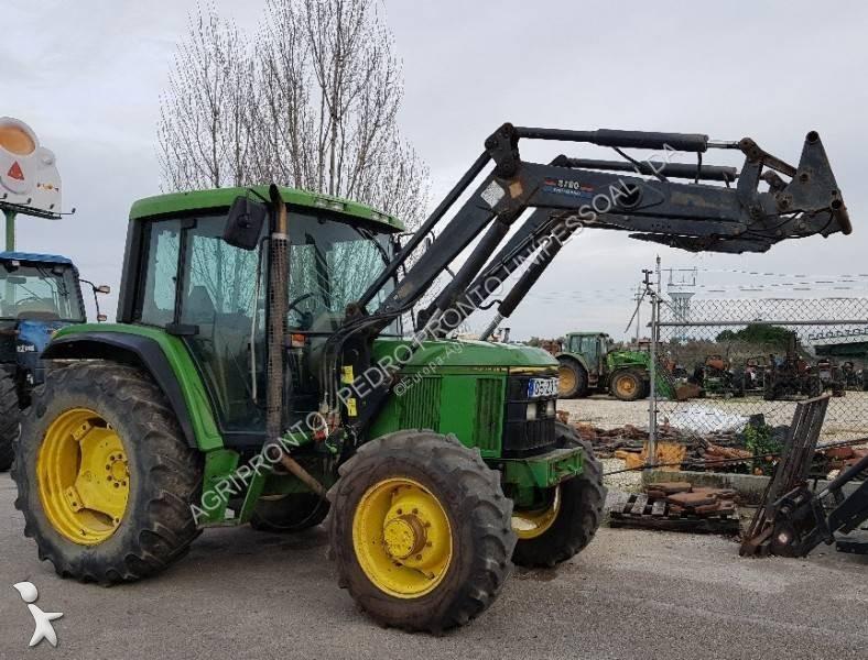 tracteur agricole john deere 6200 occasion n 2672990. Black Bedroom Furniture Sets. Home Design Ideas