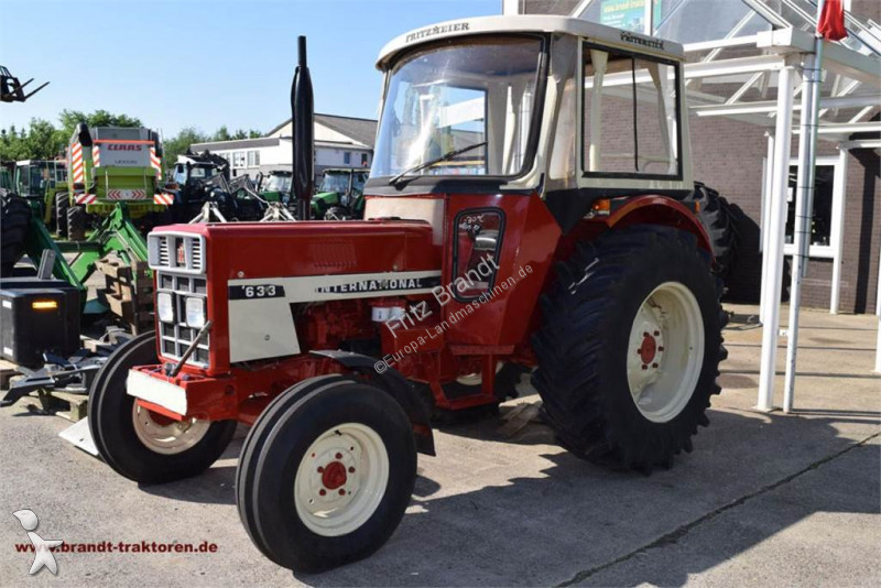 tracteur agricole case ih 633 occasion