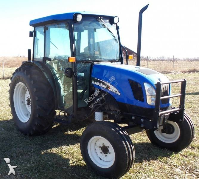 View images New Holland TN75DA farm tractor