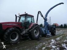 Case Case IH mx 285 +Rębak Bruks 605. Case IH mx 285 + Chopper Bruks Landwirtschaftstraktor